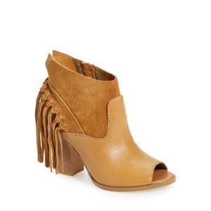 Awesome Marc Fisher Onita Fringe Booties